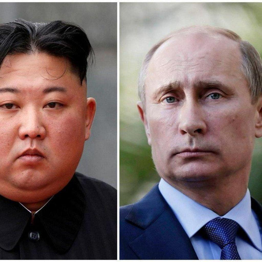 Kim Jong Un-Putin Bertemu di Rusia Besok