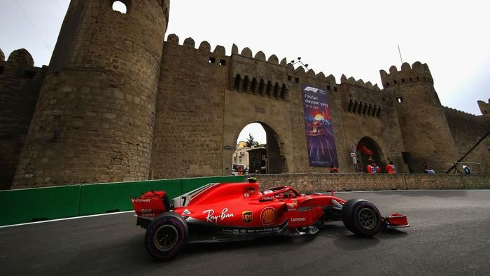 F1 akan digelar di Sirkuit Baku, Azerbaijan pada akhir pekan ini (Clive Mason/Getty Images)