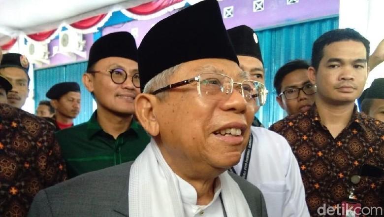 Kala Maruf Amin Ingin Temui Sandiaga untuk Rekonsiliasi