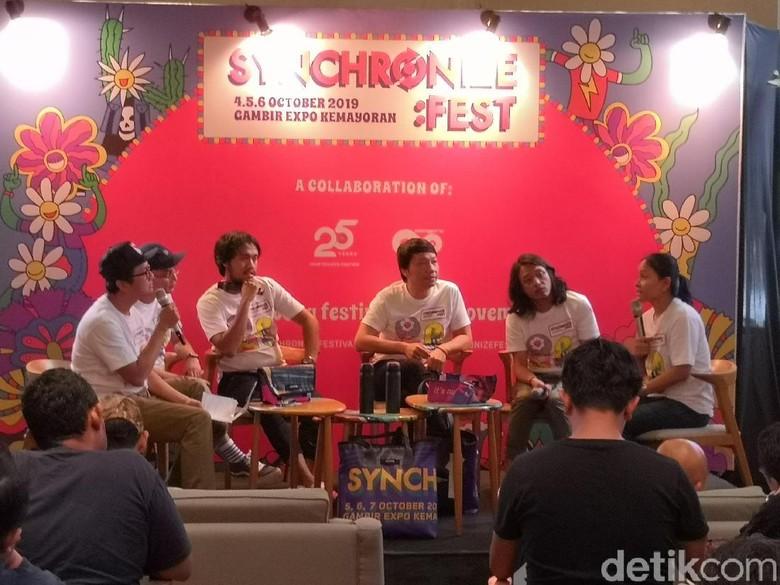 Foto: Synchronize Fest (Dyah Paramita Saraswati)