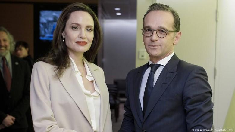 Angelina Jolie dan Menlu Jerman Kecam Kekerasan Seks dalam Konflik Bersenjata