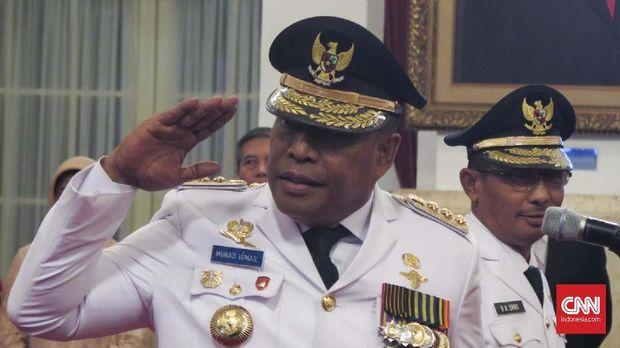 Eks Komandan Brimob Murad Ismali Resmi Jabat Gubernur Maluku
