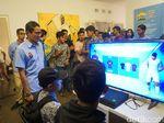 Kunjungi Rumah Siap Kerja, Sandi Bicara e-Sports untuk Lapangan Kerja