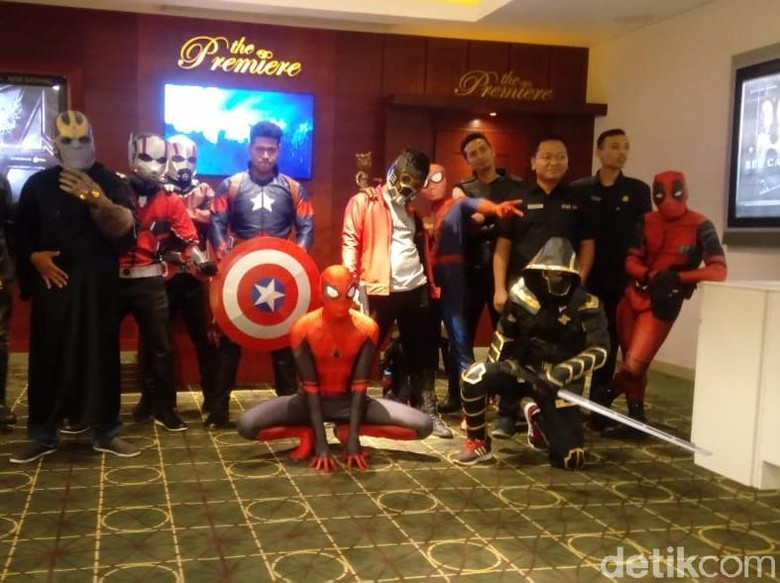 Foto: Cosplay Superhero Marvel (Angling Adhitya Purbaya)