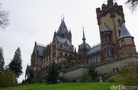 Schloss Drachenburg yang megah (Wahyu Setyo/detikcom)
