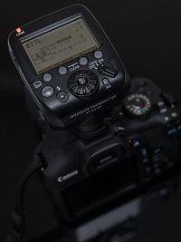 Untuk menikmati sistem wireless RT, anda perlu menempatkan flash dengan fitur RT seperti 430EX III-RT atau 600 EX-RT, atau dengan trigger ST-E3 seperti ini.