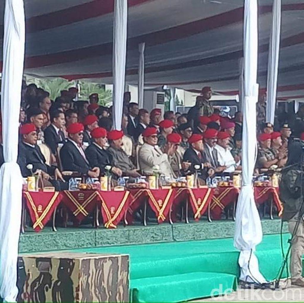 Prabowo, Gatot Nurmantyo Hingga Kapolri Hadiri Upacara HUT Kopassus