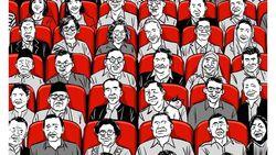 Komik Faktap soal Ilustrasi Jokowi dan Prabowo Bersatu di Endgame