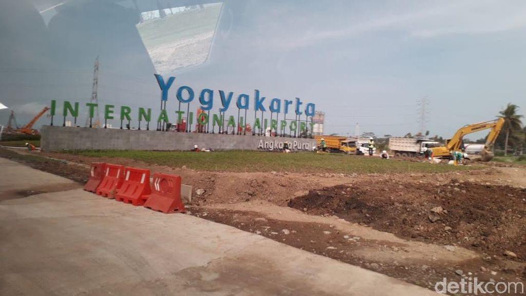 Sudah Operasi, Konstruksi Bandara Kulon Progo Baru 65%