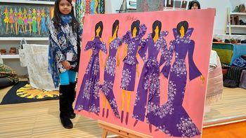 Kisah Keyla Gadis 9 Tahun Terjun ke Bisnis Desainer