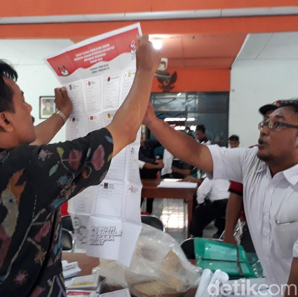 Salah Input, KPU Brebes Hitung Ulang di Sejumlah TPS