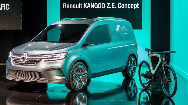 Renault Kangoo Z.E. Concept Foto: Pool (carscoops)