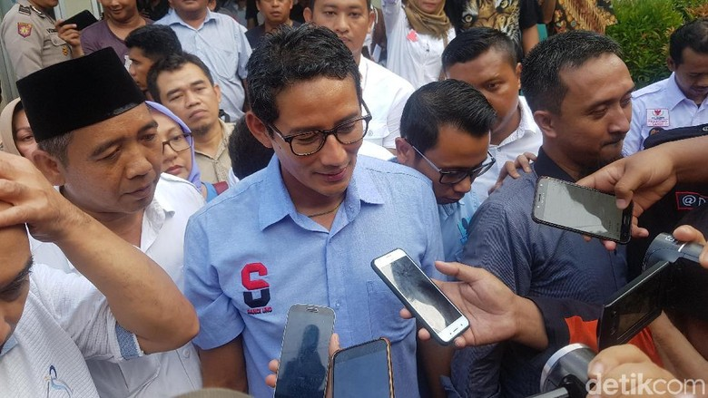 BPN Instruksikan Saksi Tak Teken C1 Susulan, Sandi: Bagian Jaga Pemilu