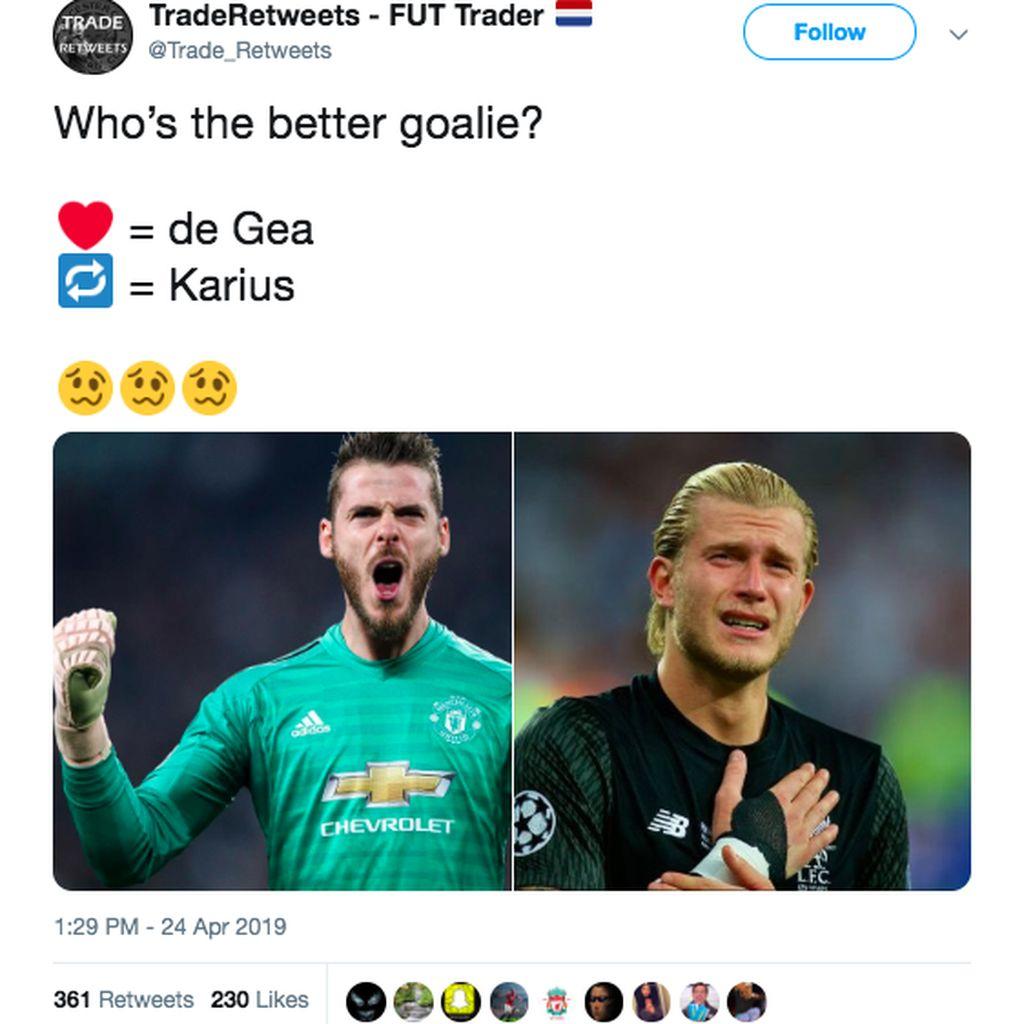 Kumpulan Meme Soal De Gea Makin Tak Berdaya
