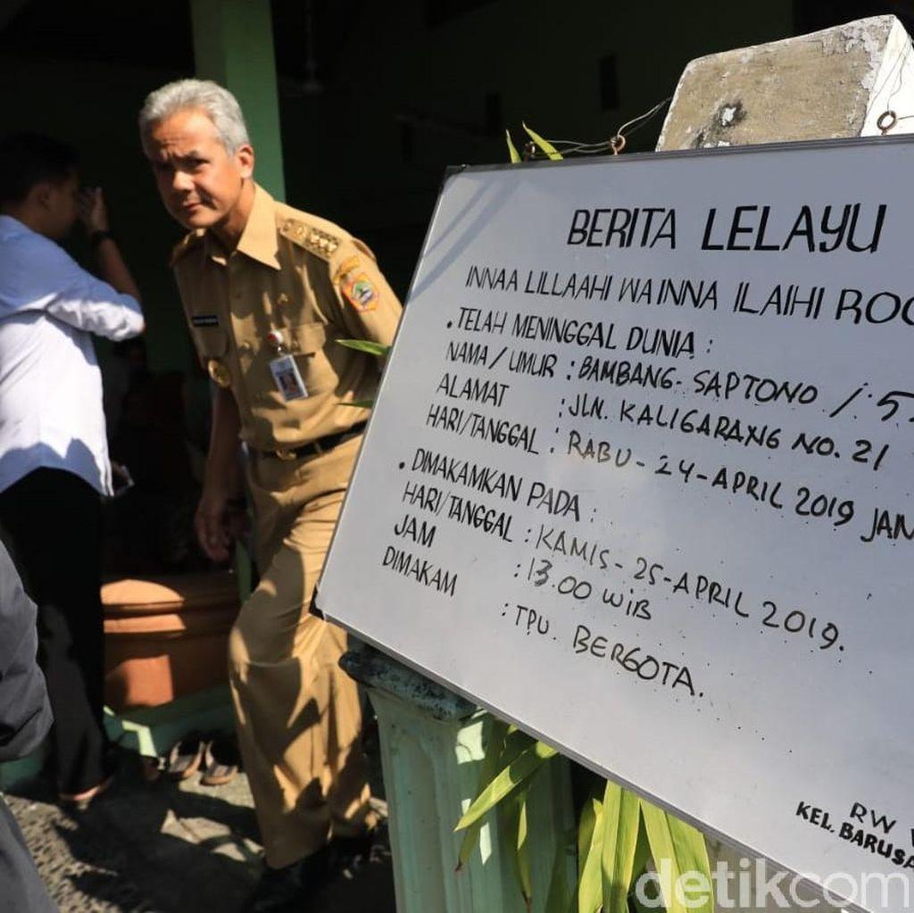 Lelah, KPPS di Semarang yang Penuh Semangat Ini Meninggal