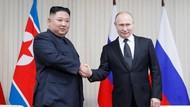Putin Berikan Medali Perang Dunia II kepada Kim Jong Un