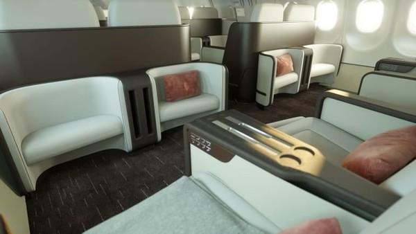 Rencana penerbangan pesawat baru Four Seasons memang masih dalam pengembangan. Namun, pelanggan yang berkantong tebal dapat memesan perjalanan dengan pesawat lawas di harga mulai sekitar USD 147.000 per orang atau setara Rp 2 miliar (Four Seasons/CNN Travel)