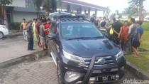 Duh! Ada Komplotan Pencuri Ban di Rest Area Tol Tangerang-Merak