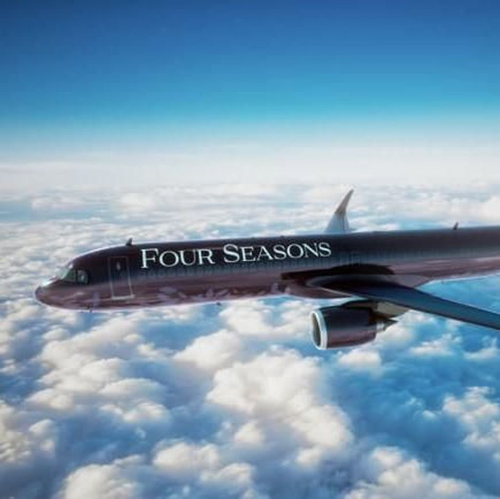 Betapa Mewahnya Pesawat Bintang Lima dari Four Seasons Ini