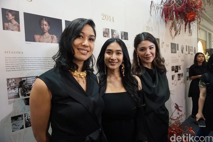 Brand perhiasan Tulola didirikan oleh Happy bersama teman dekatnya, Dewi Sri Luce Rusna.Foto: Daniel Ngantung/Wolipop