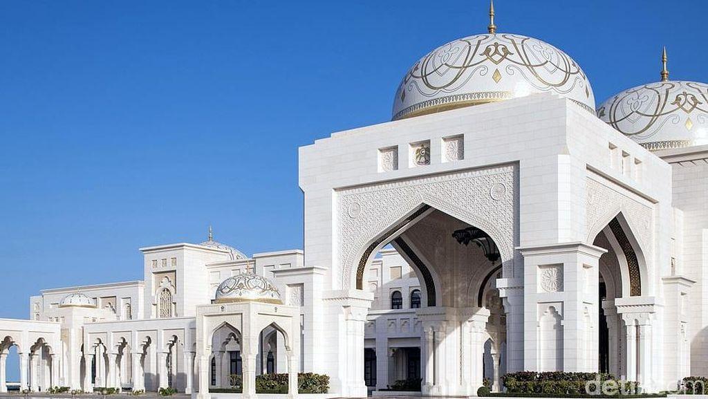 Akhirnya, Istana Kepresidenan Mewah Abu Dhabi Bisa Dikunjungi Turis