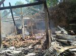 Ditinggal Pergi Pemiliknya, 2 Rumah di Gunungkidul Ludes Terbakar
