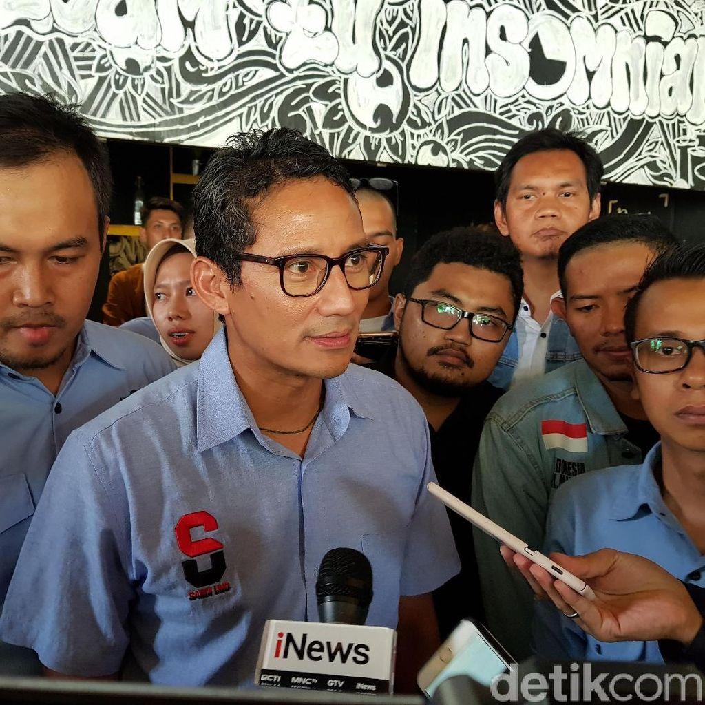 Singgung Dana Pemilu Rp 25 T, Sandi Sebut RI Harusnya Terapkan e-Voting
