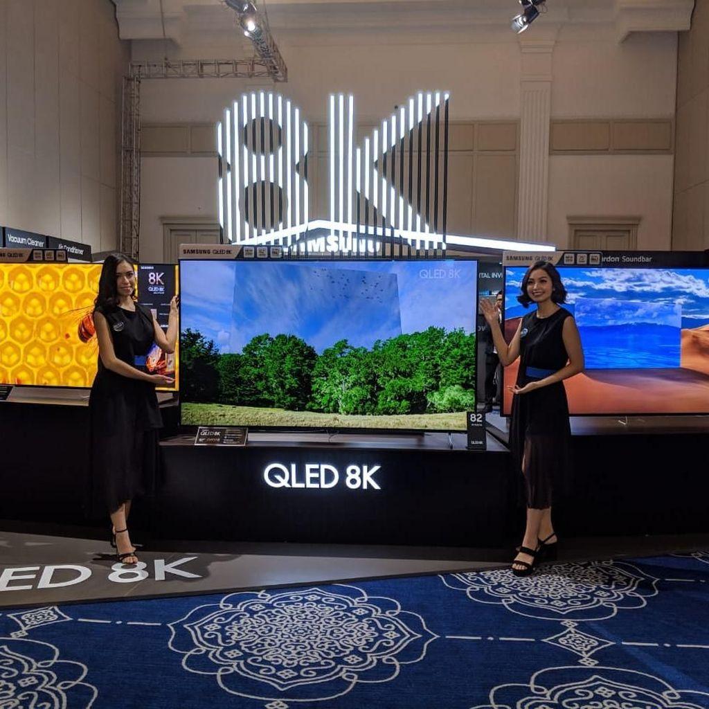 TV 8K Samsung Tiba di Indonesia, Ada yang Seharga Rp 1,5 Miliar