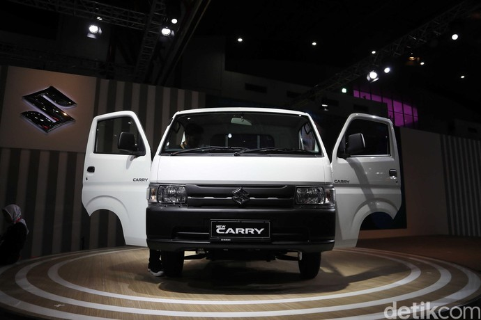 Debut Pertama Dunia Suzuki Carry