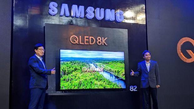 Televisi 8K Samsung Tiba di Indonesia, Harganya Setara Mobil