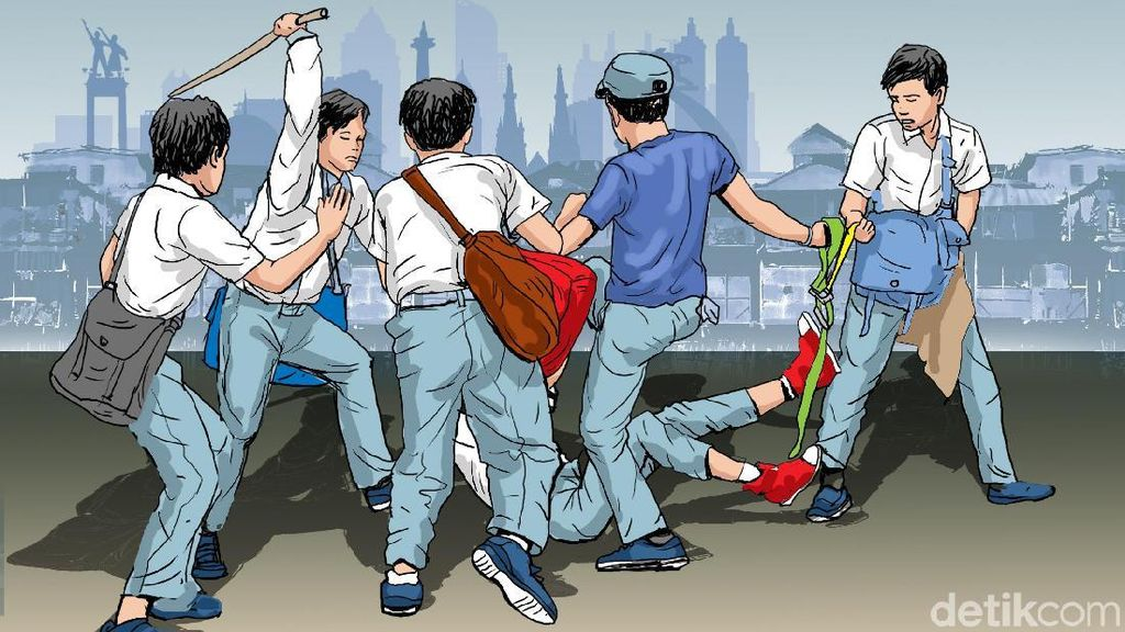Polisi Tetapkan 4 Tersangka Tawuran yang Tewaskan Pelajar di Bogor