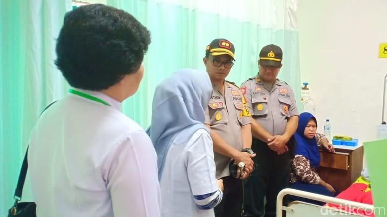 Tersetrum, Ketua PPK di Kediri Dilarikan ke Rumah Sakit
