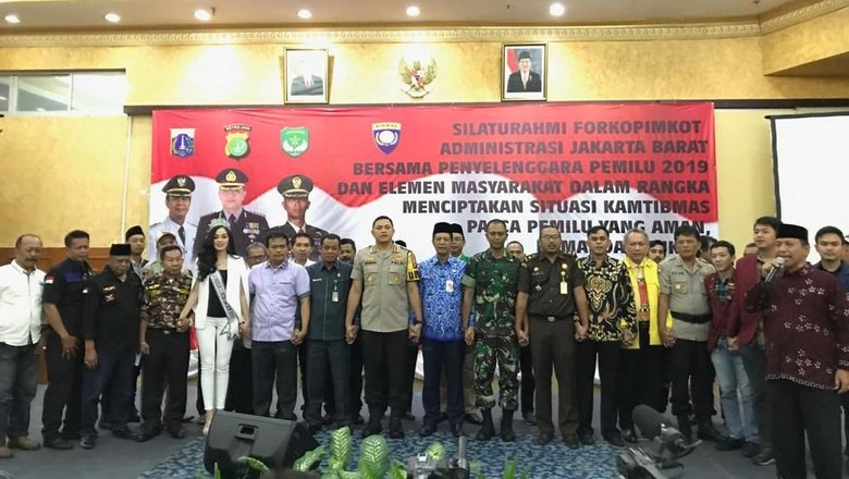 Sejumlah Elemen di Jakarta Barat Deklarasi Damai Pascapemilu