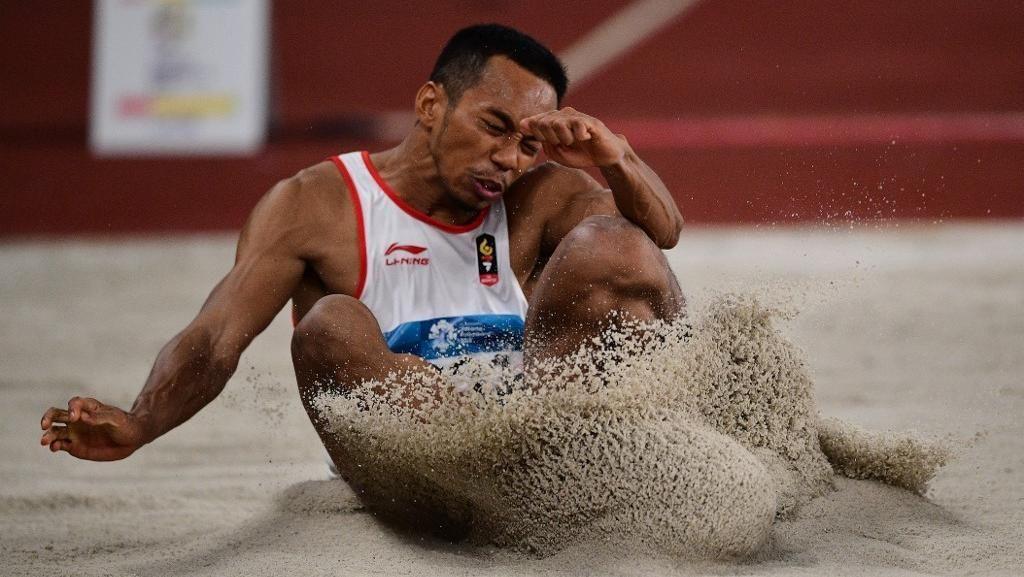 Sapwaturrahman Sabet Emas Kedua Atletik di SEA Games