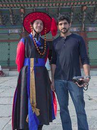 Saat Pangeran Tampan Dubai Jalan-jalan di Istana Kebanggaan Korea