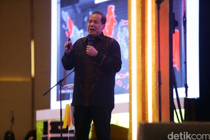 Hal itu disampaikan CT dalam Gala Dinner 50th Anniversary Bank Mega & Economic Outlook di Jakarta, Kamis (25/4/2019).