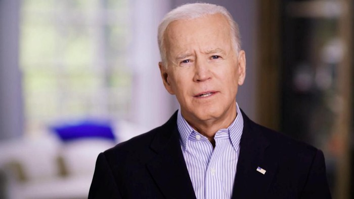Former U.S. Vice President Joe Biden announces his candidacy for the Democratic presidential nomination in this still image taken from a video released April 25, 2019. BIDEN CAMPAIGN HANDOUT via REUTERS ATTENTION EDITORS - THIS IMAGE HAS BEEN SUPPLIED BY A THIRD PARTY. NO RESALES. NO ARCHIVES