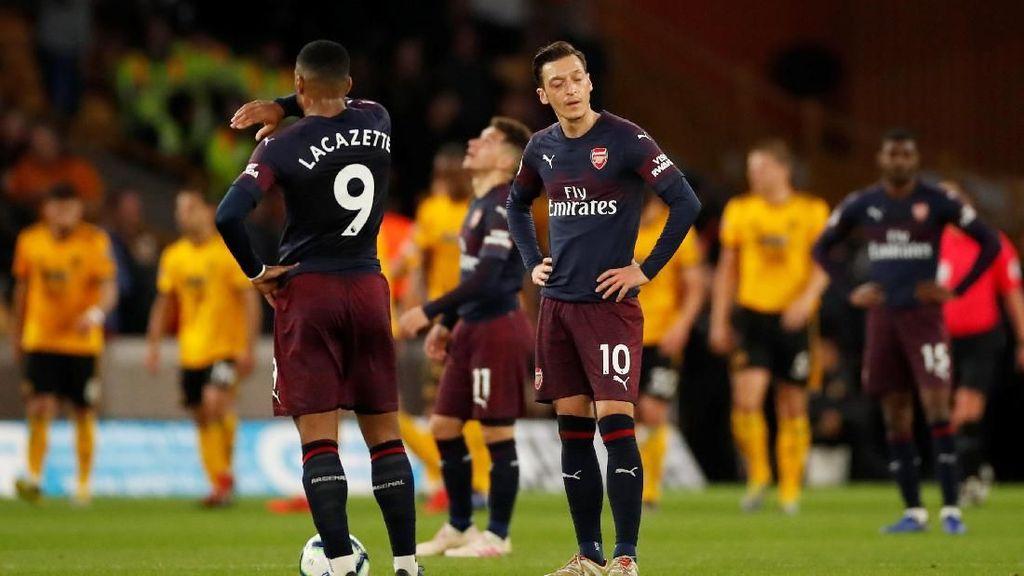 Arsenal Kalah Lagi, Kini Dipermalukan Wolves
