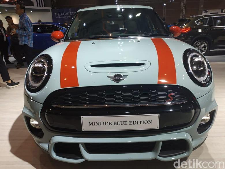 Mini Blue Edition Foto: Ridwan/detikOto