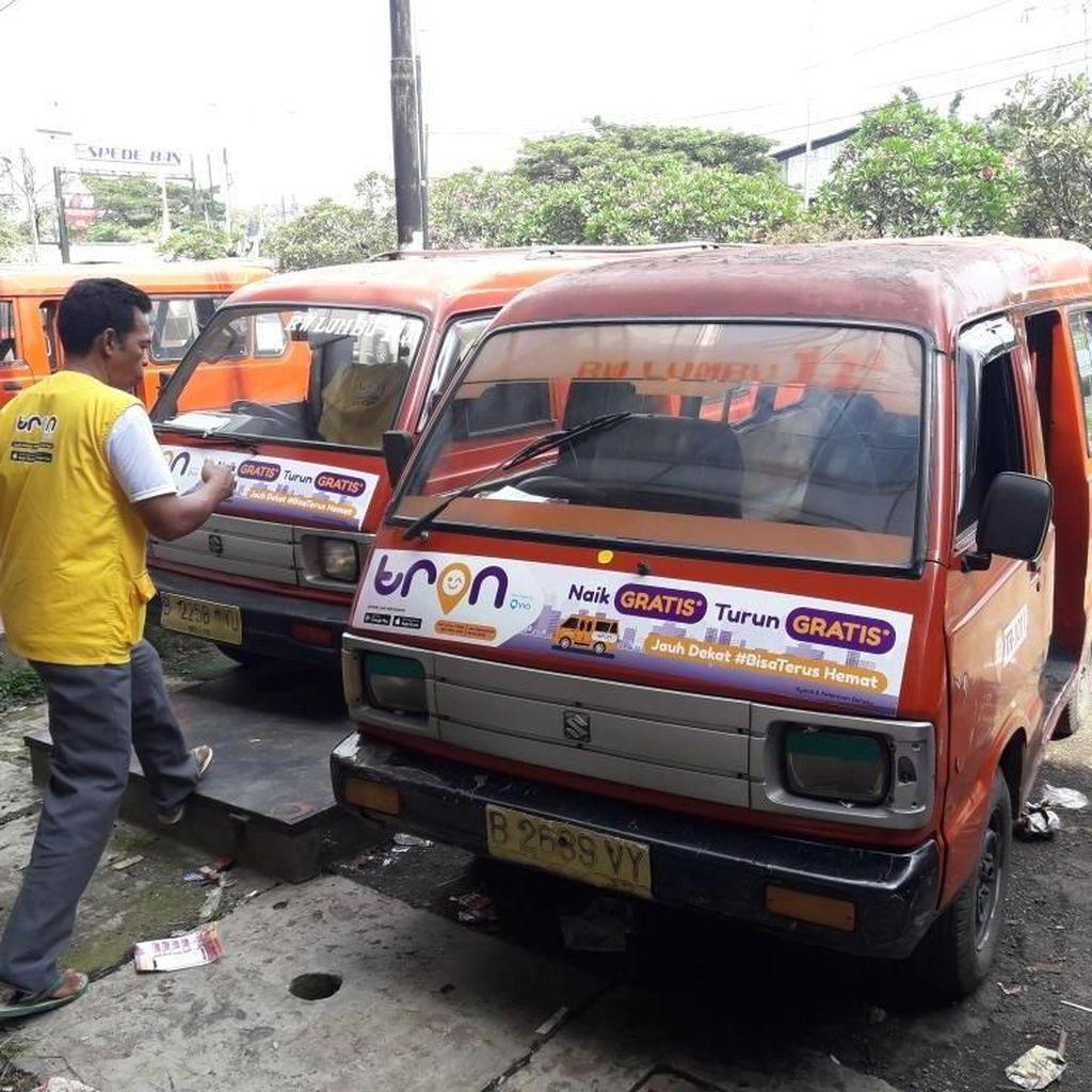 Pemkot Bekasi Uji Coba Angkutan Kota Berbasis Aplikasi Online