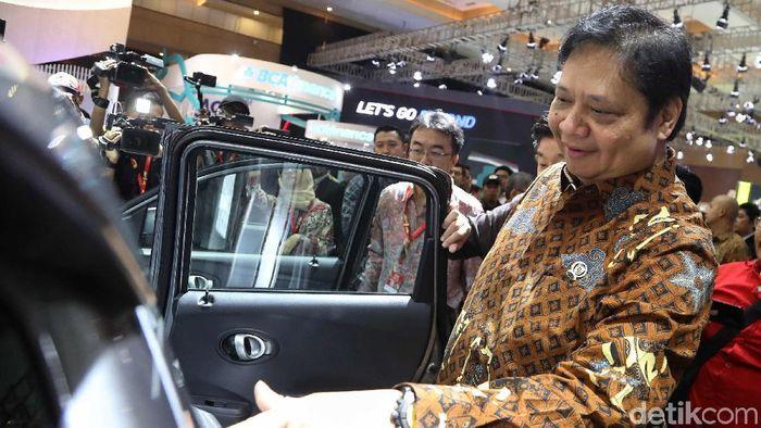 Menteri Perindustrian Airlangga Hartarto/Foto: Pradita Utama