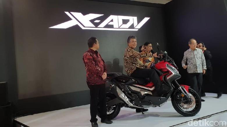 Honda X-ADV Foto: Luthfi Anshori