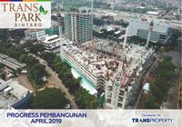 Transpark Bintaro Booming Terjual 88%, Tower Baru Manhattan Dibuka