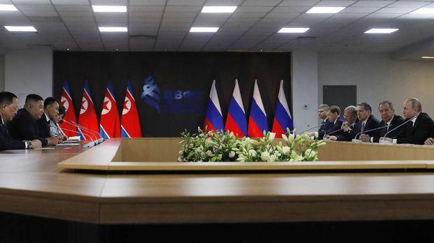 Pertemuan Putin dan Kim Jong-Un di Vladivostok