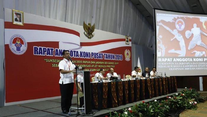 Rapat Tahunan KONI digelar di Holten Sultan 24 April (dok.KONI)