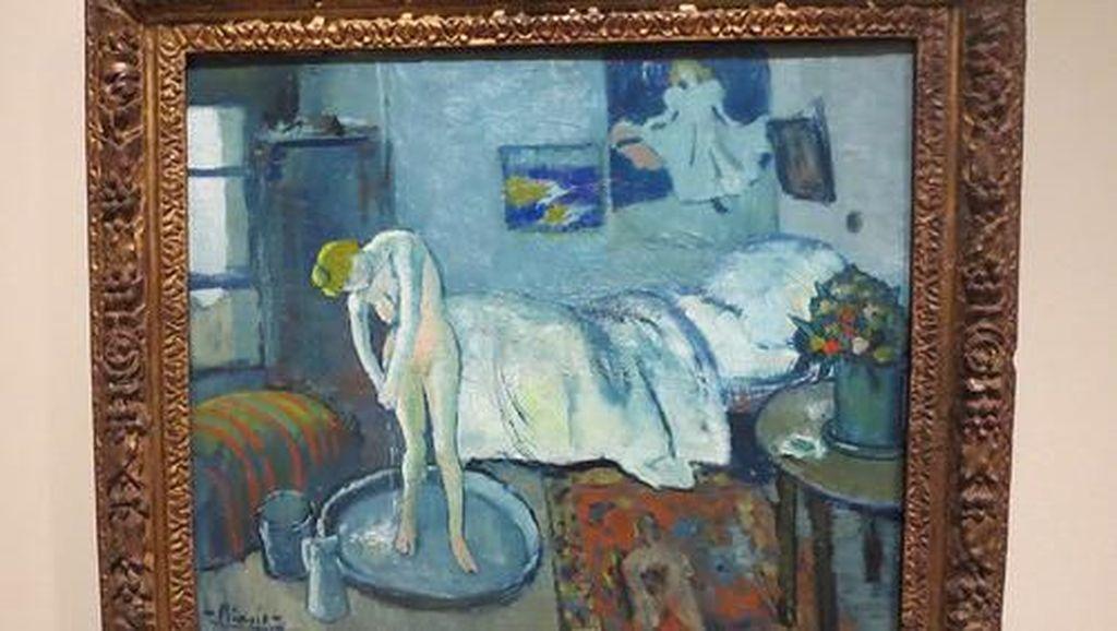 Di Balik Lukisan Tersembunyi yang ada di Karya Picasso Blue Room