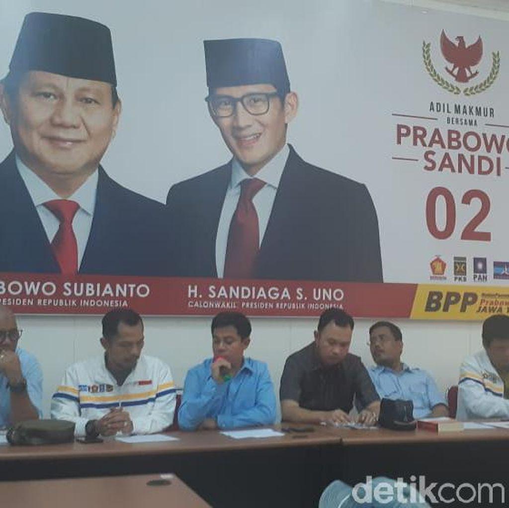 BPP Prabowo-Sandi Ungkap Berbagai Kecurangan Pemilu di Jatim