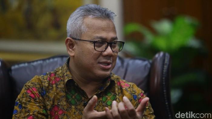 Ketua KPU Arief Budiman, Blak-blakan degnan detik.com, Kamis (25/4/2019)