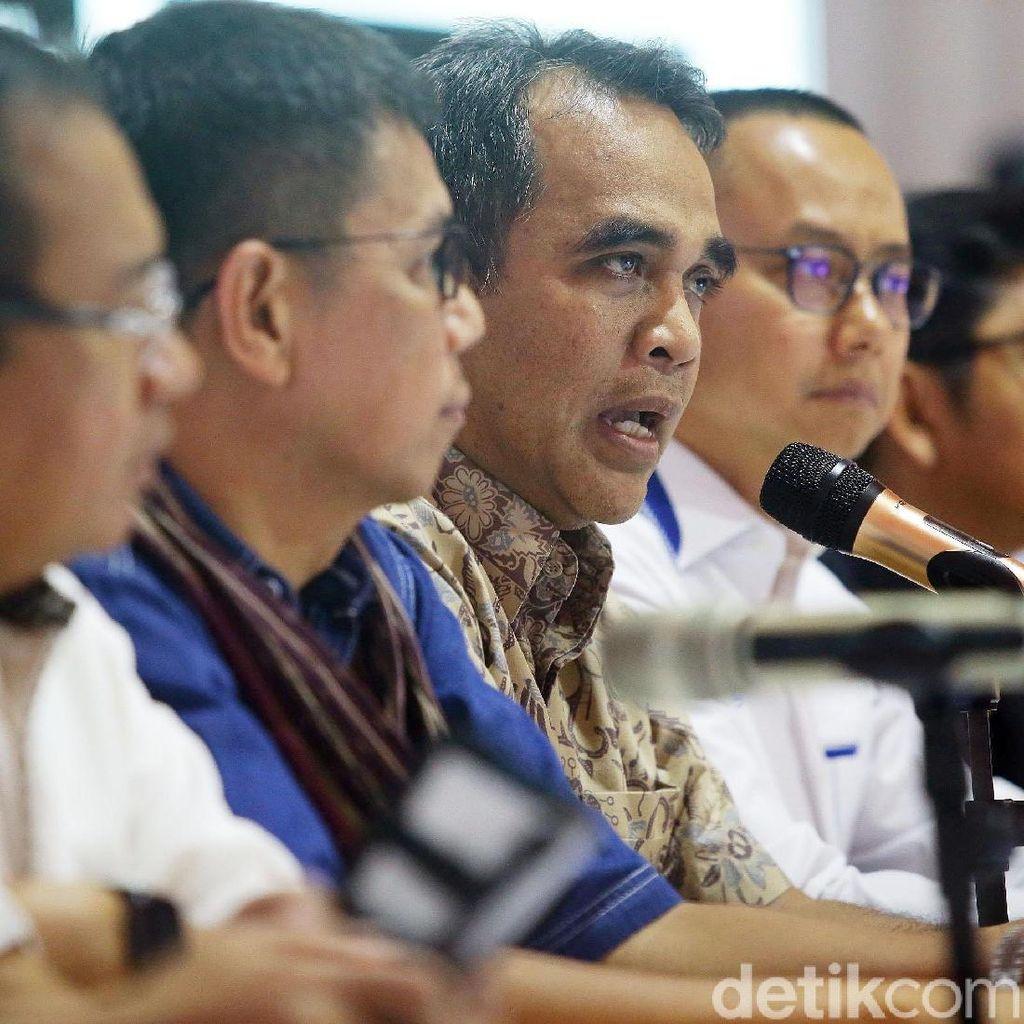 Potret Ekspresi BPN Prabowo Setelah Pantau Server KPU