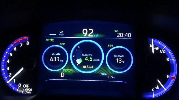 Corolla Hybrid 2.0 Wagon